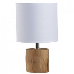 Lampe en bois ( abat jour...