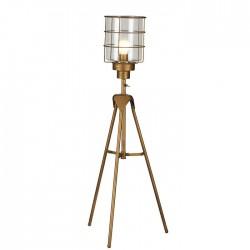 Lampe métal sur trépied