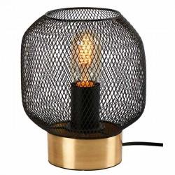 Lampe basse métal doré