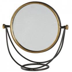 Miroir rond pivotant  à poser