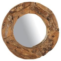 Miroir  rond  Diam 100  Teck