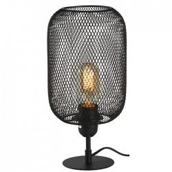 Lampe métal noir haut 30 cm