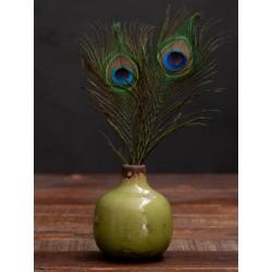 Meubles Patines et Objets, savoie Bassens 73, petit vase céramique vert