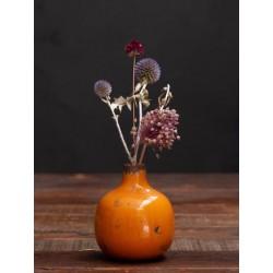 Meubles Patines et Objets, savoie Bassens 73, petit vase céramique orange