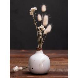 Meubles Patines et Objets, savoie Bassens 73, petit vase céramique blanc