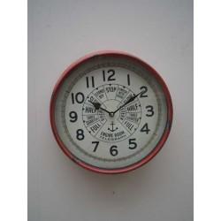 """horloge rouge """"télégraphe..."""