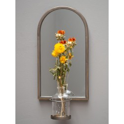Miroir  et soliflore