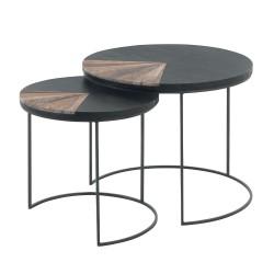 "Table gigogne ronde "" bois..."