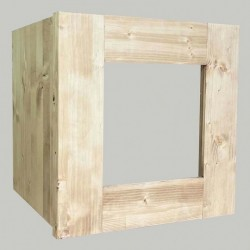 Porte vitrée pour cube...