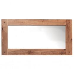 Meubles Patines et Objets, savoie Bassens 73, miroir bois chêne 150cm pose horizontale
