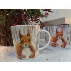 Mug tasse déco écureuil...